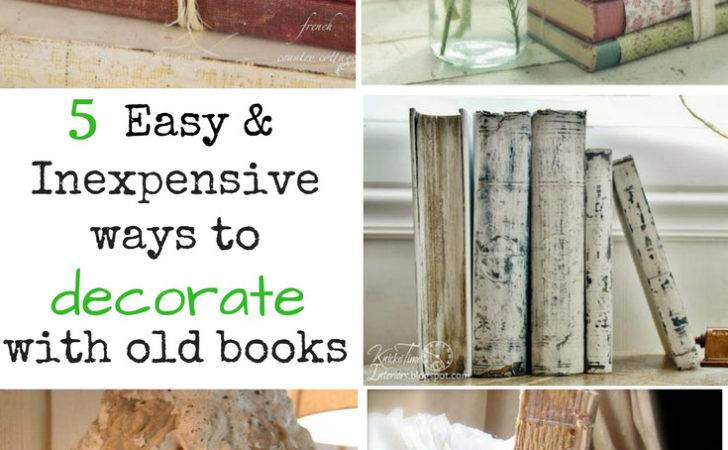 Cheap Ways Decorate Inexpensive