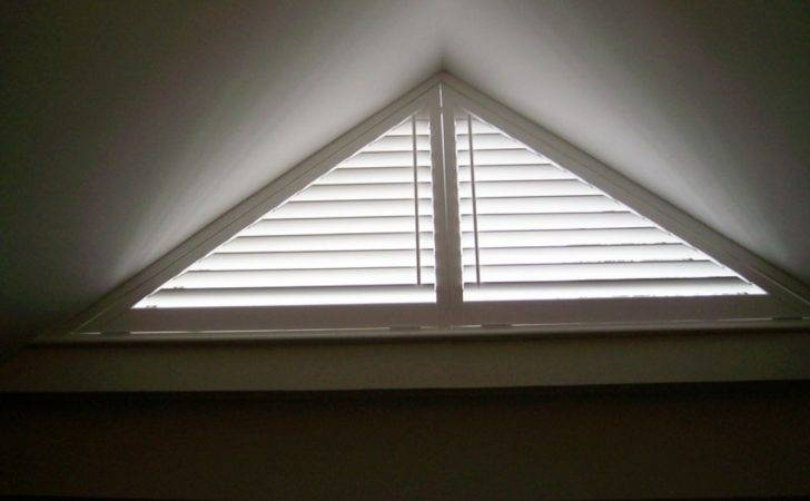 Cheapest Window Treatments Curtains Triangle Windows