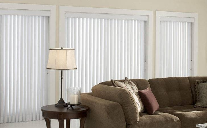 Check Out Linen White Vertical Blinds Day