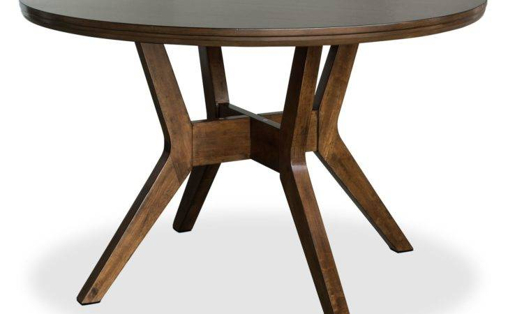 Chelsea Round Dining Table Brick