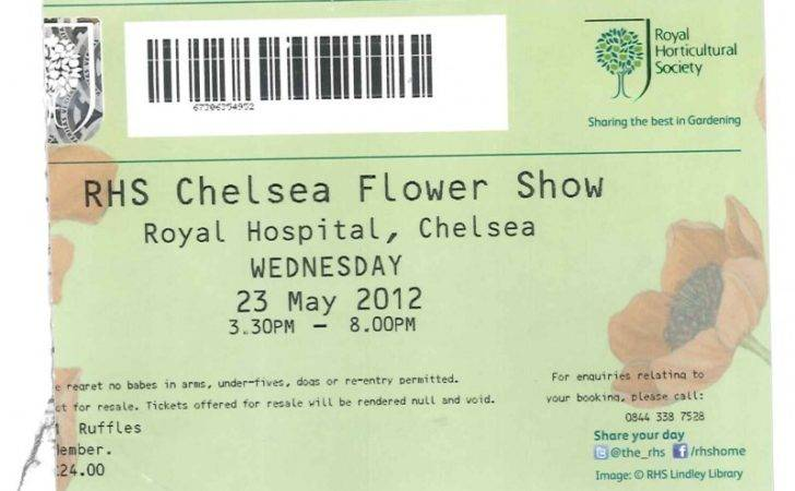 Chelsea Ticket Stub Chaffin Fencing