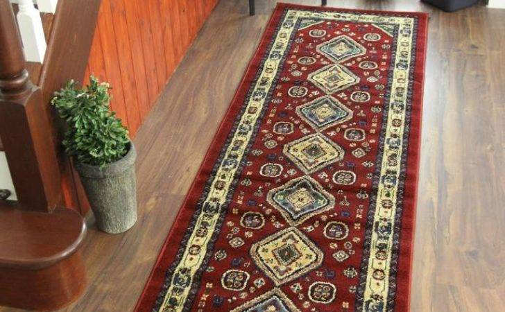 Cherry Deep Red Beige Green Traditional Afghan Style