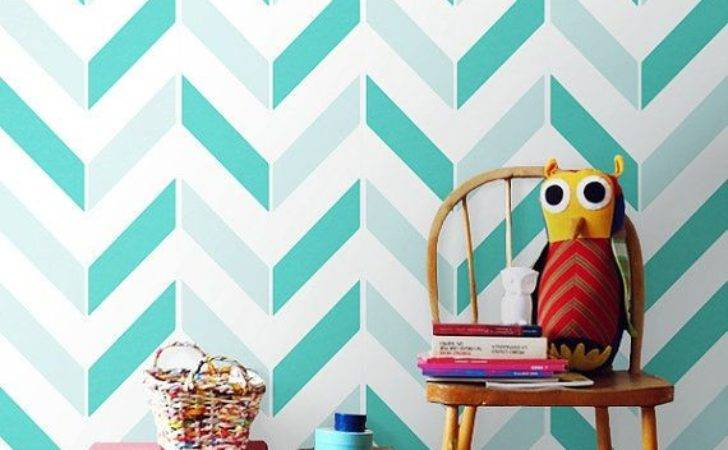 Chevron Pattern Self Adhesive Vinyl