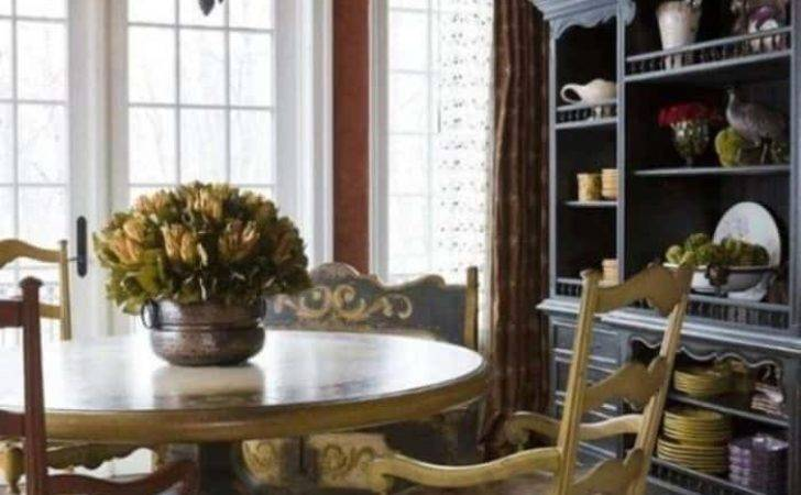 Chic French Country Style Dining Room Vintage