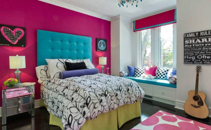 Chic Hot Pink Bedroom Designs Home Design Lover