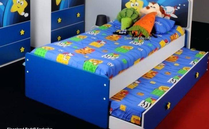 Childrens Single Pine Bunk Bed Can Split Create