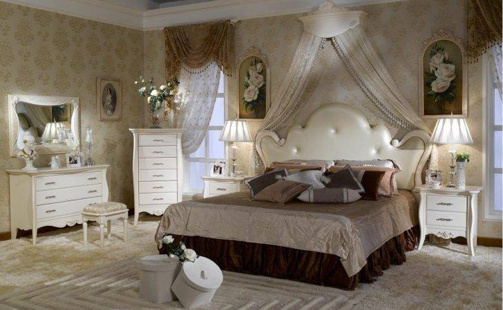 China French Style Bedroom Set Furniture Bjh