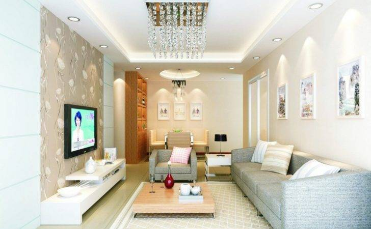 Chinese Modern Living Dining Room Ideas
