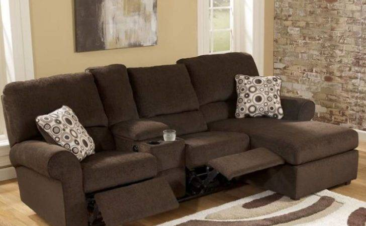 Chocolate Shaped Sectional Sofa Small Spaces