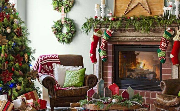 Christmas Decor Living Rooms