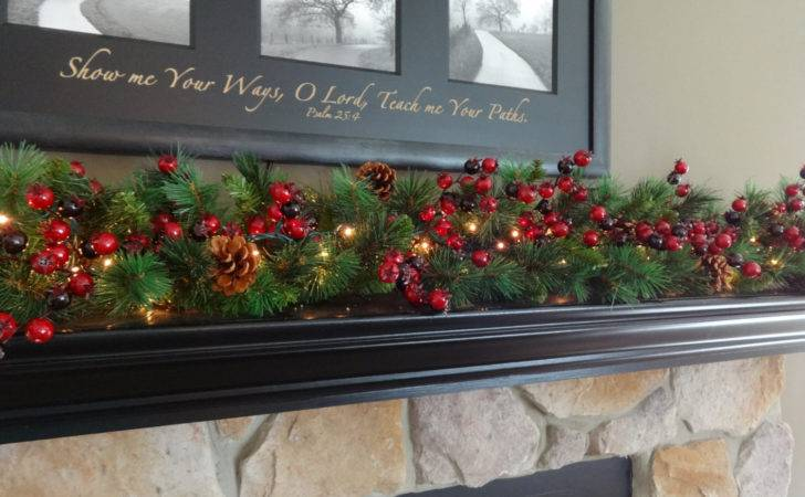 Christmas Decoration Mantle Garland Mantel