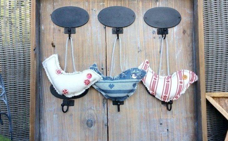 Christmas Decorations Quirky Scandi Hanging Folksy