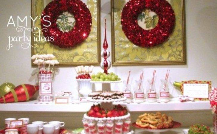 Christmas Dessert Table Ideas Photograph Party