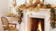 Christmas Ideas Fireplace Decoration Xmas