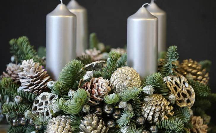 Christmas Table Centrepieces Designed Phillo Flowers