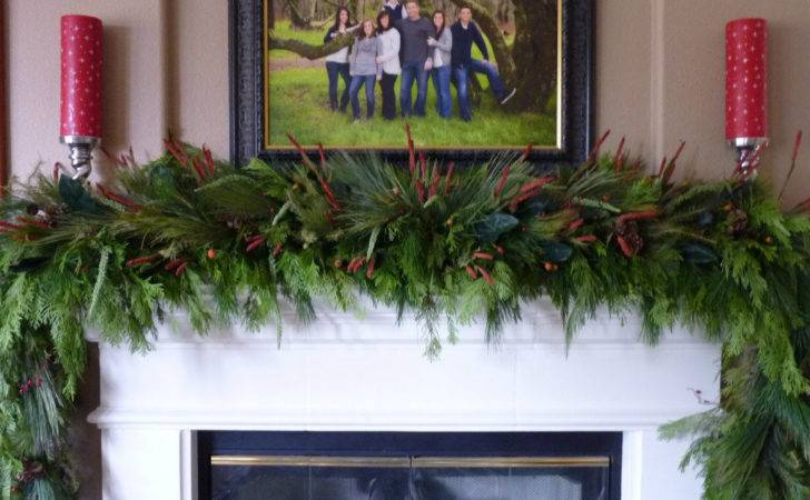 Christmas Wonderful Mantle Garland Design Dazzle
