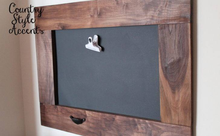 Chunky Chalkboard Magnetic Board Country Style Accents