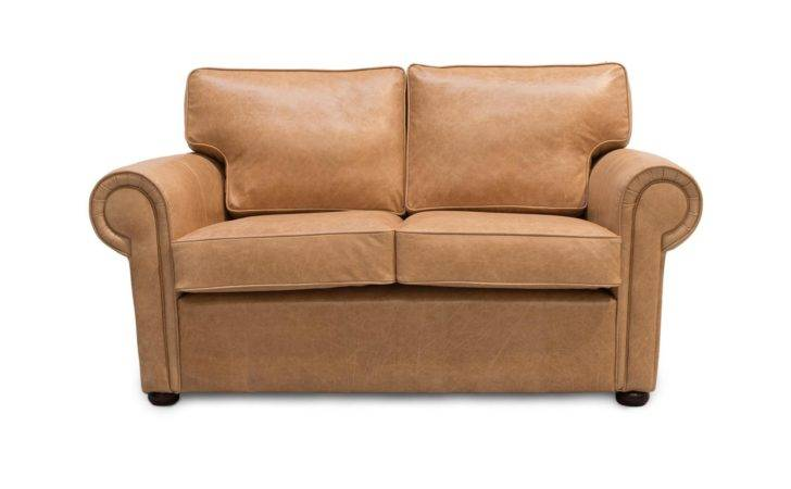 Clare Traditional Scroll Arm Leather Sofas Made