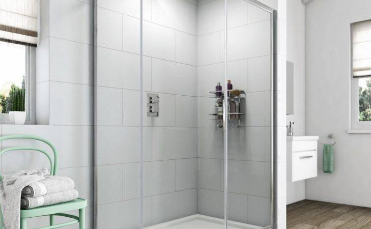 Clarity Single Door Offset Quadrant Shower Enclosure