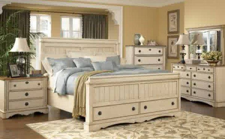Classic Antique Country Bedroom Furniture Home Decor