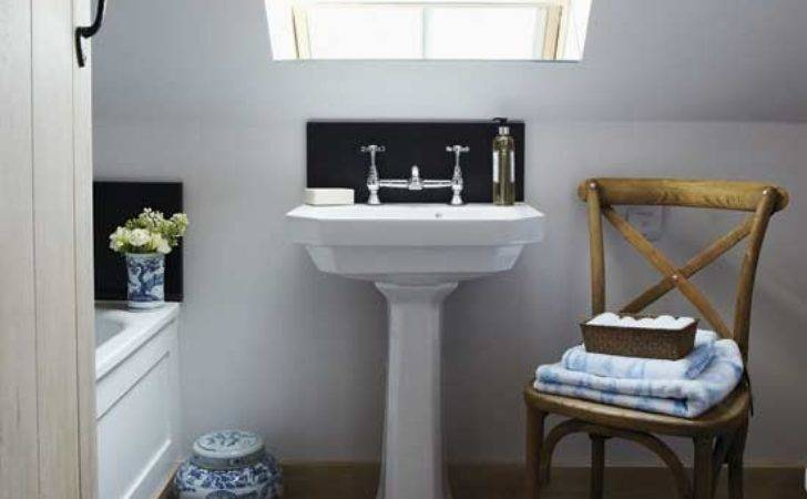 Classic Attic Bathroom Small Design Ideas