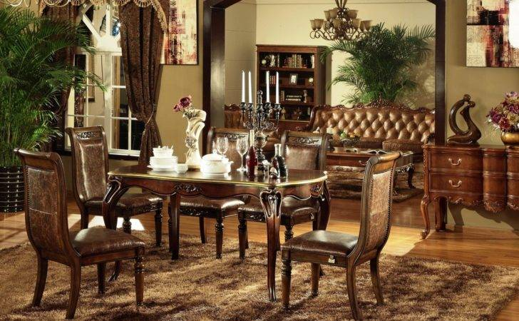 Classic Dining Table Set Chair