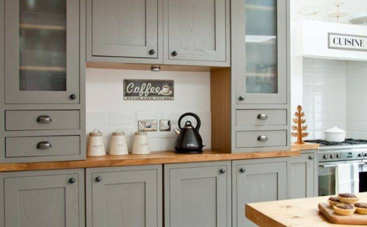 Classic Kitchen Dresser Makeover Grey Country