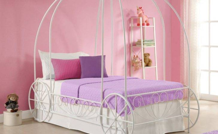 Classic Metal Carriage Bed Frame Platform Twin