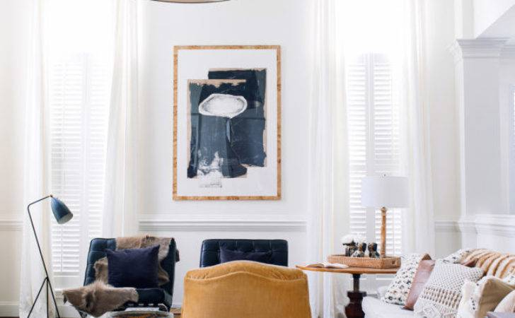 Classic Modern Living Room Claire Brody Designs
