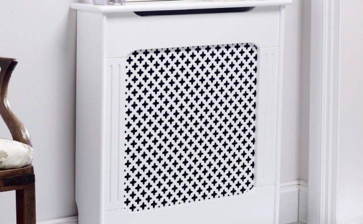 Classic Radiator Cabinet Cover White Fully Finished