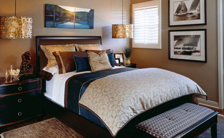 Classic Sophisticated Guest Room After