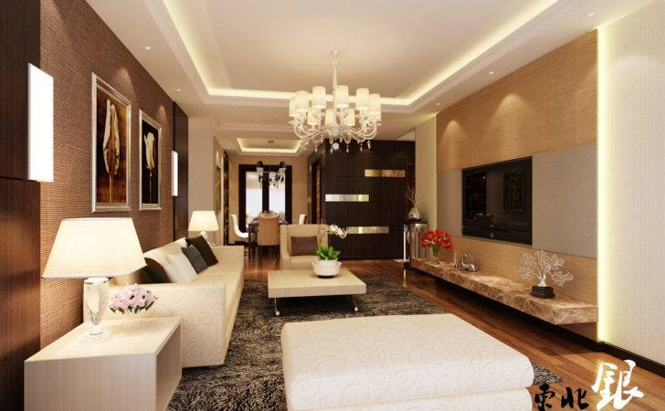 Classy Living Room China Interior Design Ideas