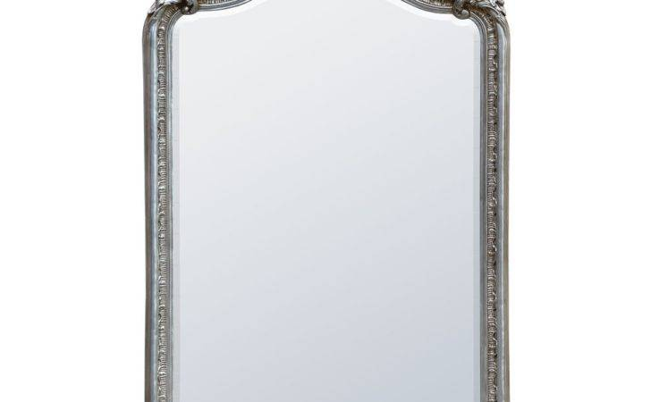 Claudia French Rococo Silver Bevelled Decorative Wall