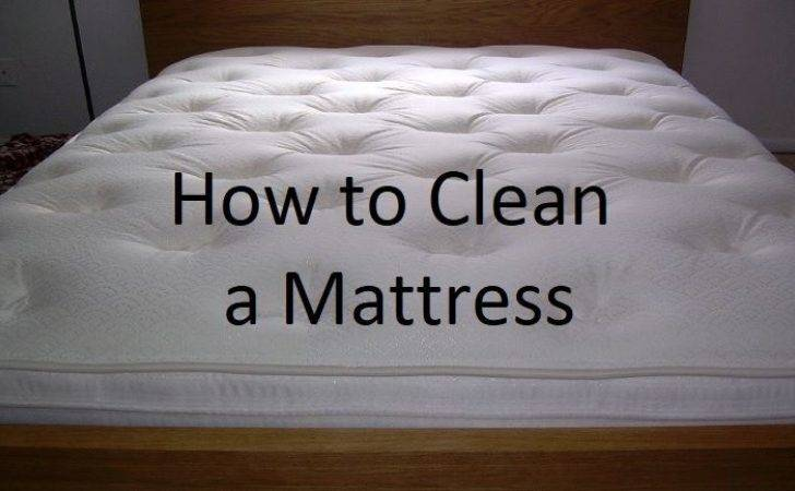 Clean Mattress Stain Removal Deodorizing Tips