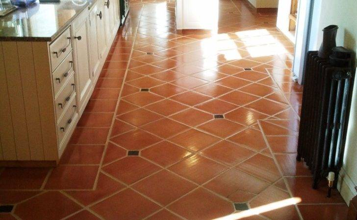Cleaning Terracotta Floors Grout Protection