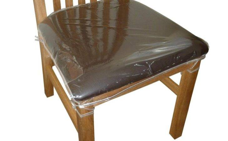 Clear Plastic Dining Chair Seat Cushion Covers