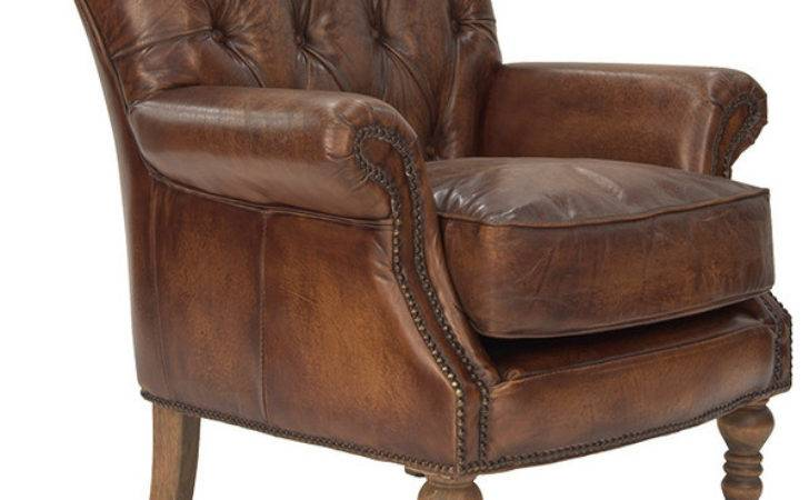 Clerkenwell Armchair Antique Leather Traditional