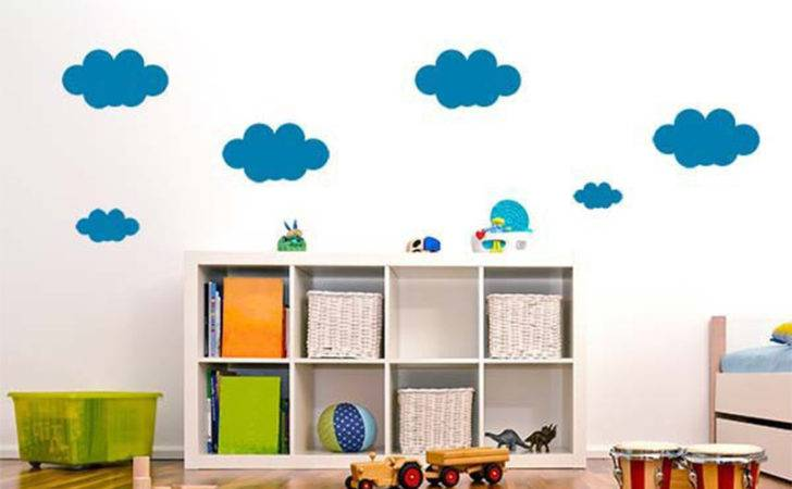 Cloud Wall Stickers Kids Rooms Home Bedroom Decor