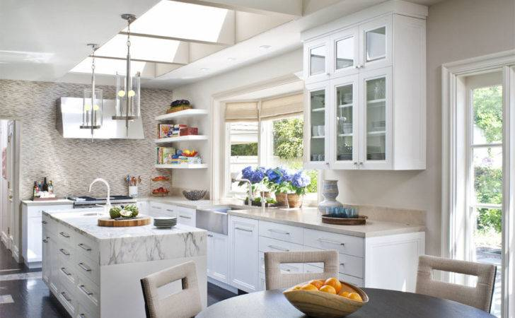 Cococozy Skylight Limit Brightening Kitchen