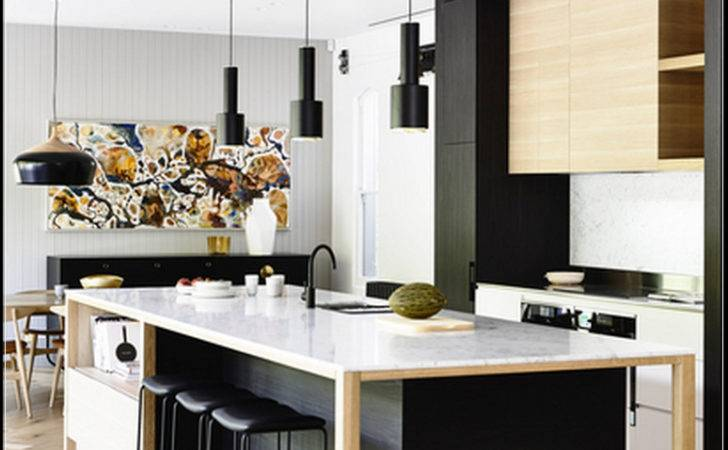 Collection Black White Wood Kitchen Decor