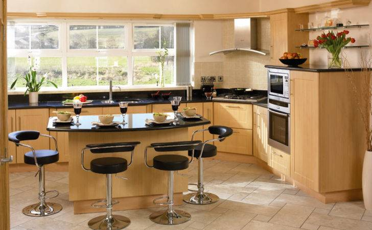 Cologne Beech Kitchen Kevin Sorohan Fitted Kitchens
