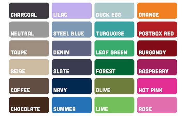 Color Chart Names Fsocietymask