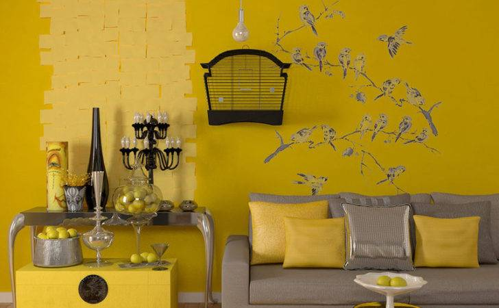 Color Walls Pinterest Yellow Living Rooms Principal