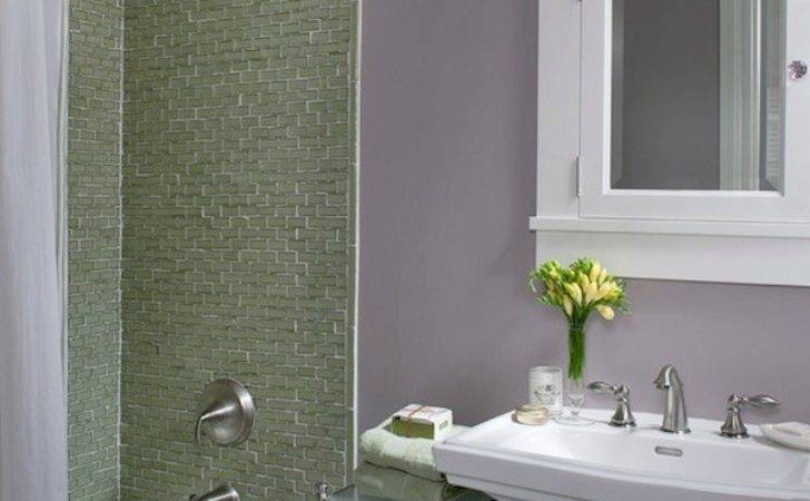 Colorful Ideas Visually Enlarge Your Small Bathroom