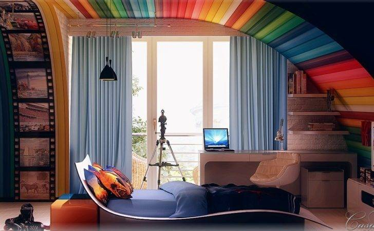 Colorful Kids Room Design Ideas Interior