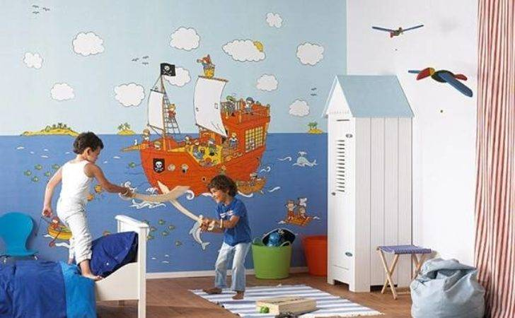 Colorful Kids Rooms Modern Room
