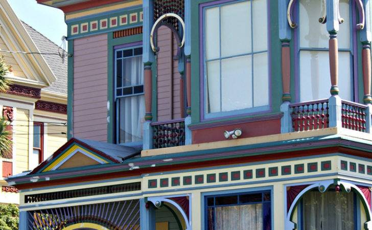 Colorful Victorian House Hillsdale Eureka Flickr