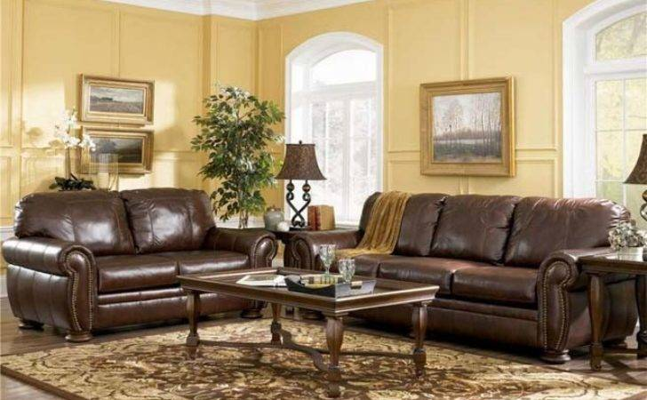 Colors Living Rooms Brown Furniture