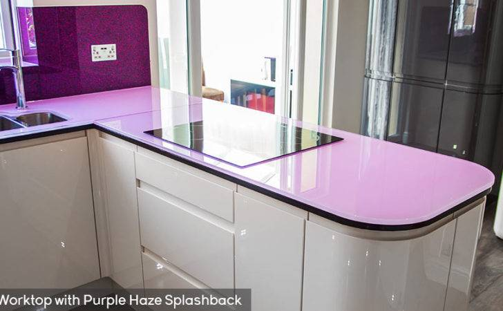 Coloured Glass Worktops Toughened Kitchen
