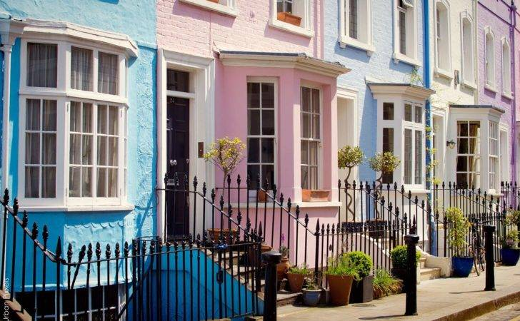 Colourful London Houses Urban Pixxels